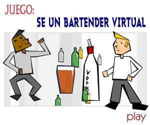 Juego Bartender Virtual