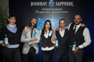 Semi finalistas Madrid Bombay Sapphire Most Imaginative Bartender